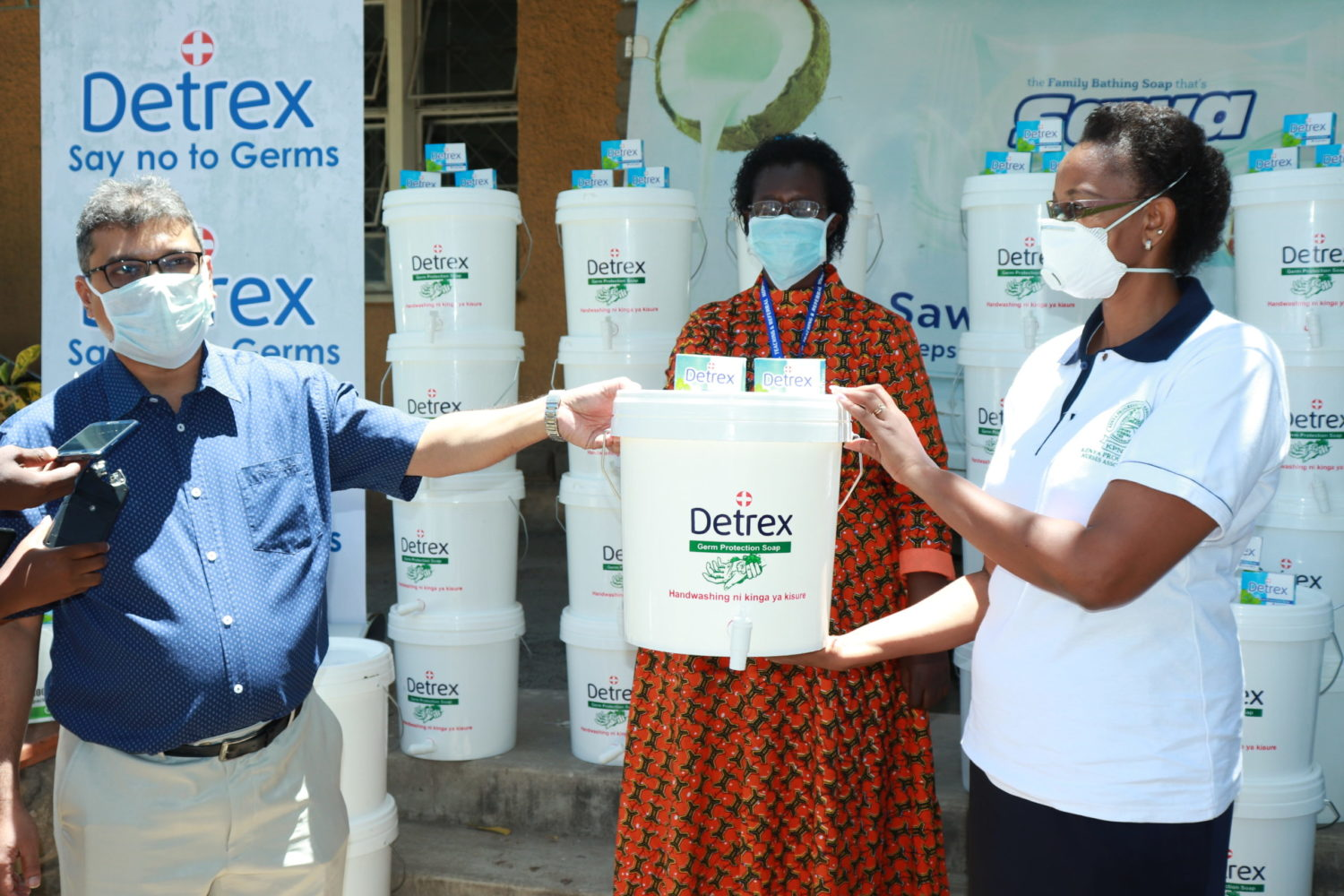 Pwani Oil donates hand washing kits and soap to nurses in 11 counties