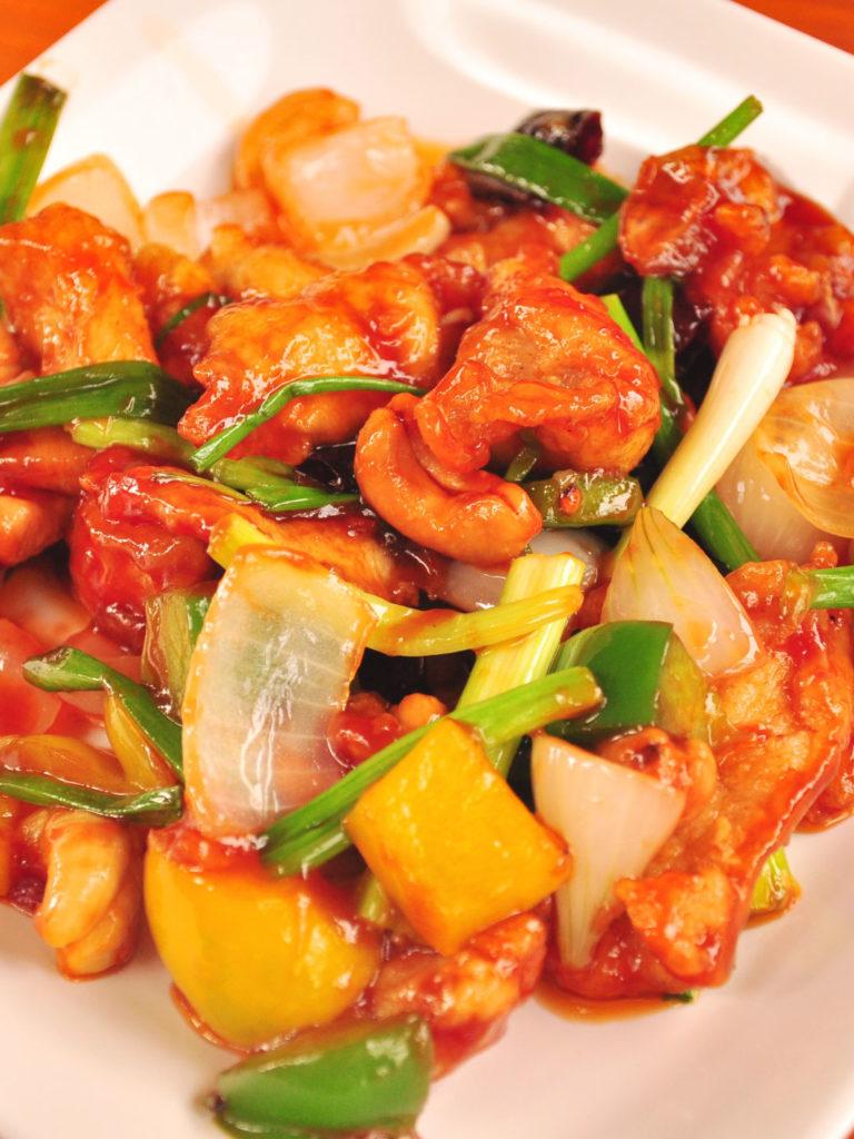 Red & Yellow Pepper Chicken Salad
